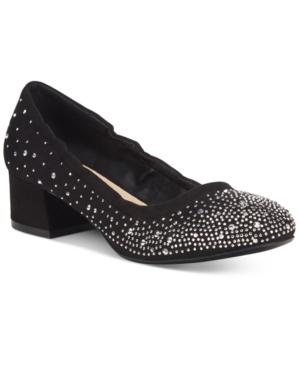 Callisto Ailish Rhinestone Pumps Women's Shoes