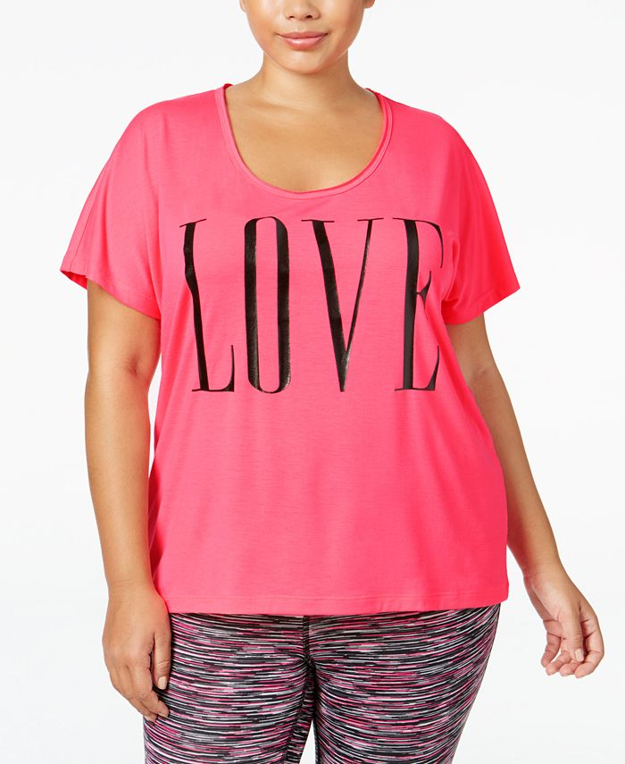 Material Girl - Plus Size Graphic T-Shirt