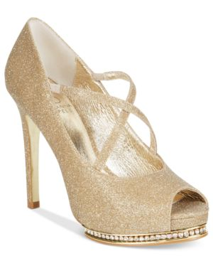 Adrianna Papell Golda Platform Evening Pumps Women's Shoes