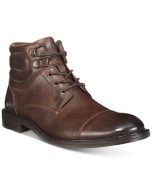 Unlisted by Kenneth Cole Men's Roll With It Cap-Toe Ankle Boots Men's Shoes