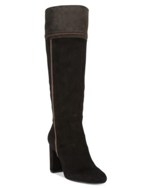 Rialto Cordelia Patchwork Dress Boots Women's Shoes