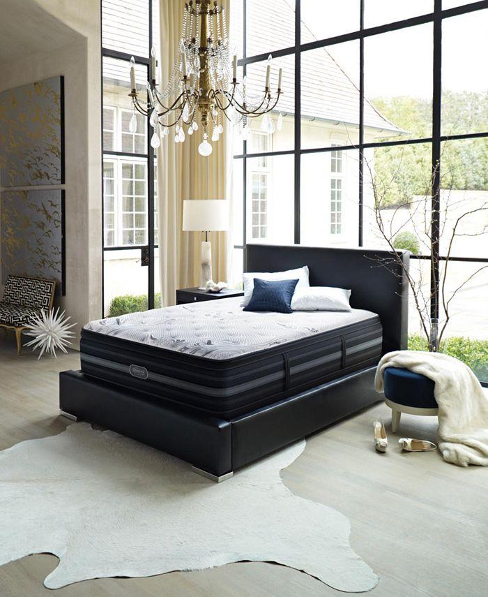 Beautyrest - Black Vivianne Plush Pillow Top King Mattress