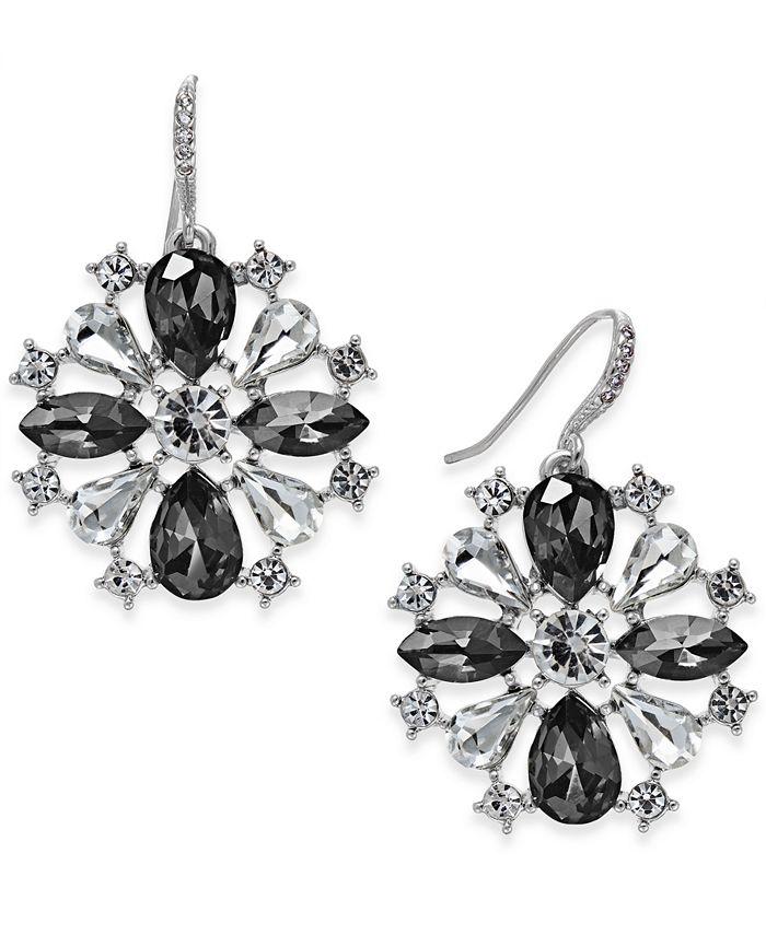 Charter Club - Crystal Pinwheel Earrings