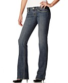 Buffalo Jeans Farrah Boot Cut Jeans, Ragged Worn Wash