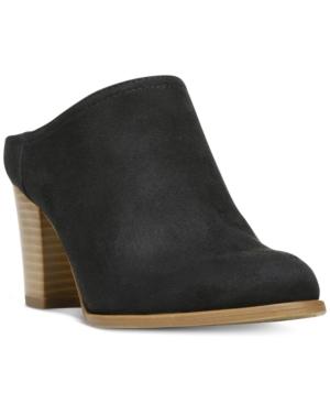 Fergalicious Colleen Block Heel Mules Women's Shoes