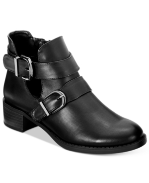 Easy Street Badge Booties Women's Shoes