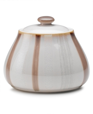 Denby Dinnerware, Truffle Layers Covered Sugar Bowl