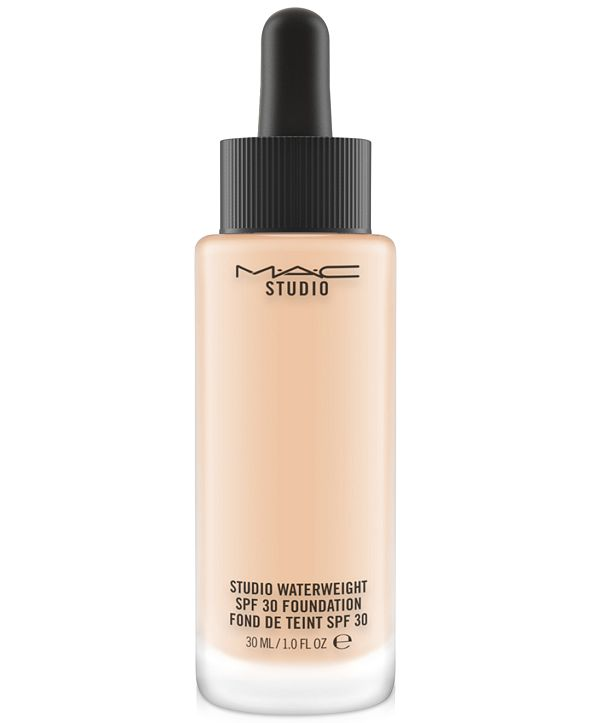 MAC Studio Waterweight SPF 30 Foundation, 1-oz.