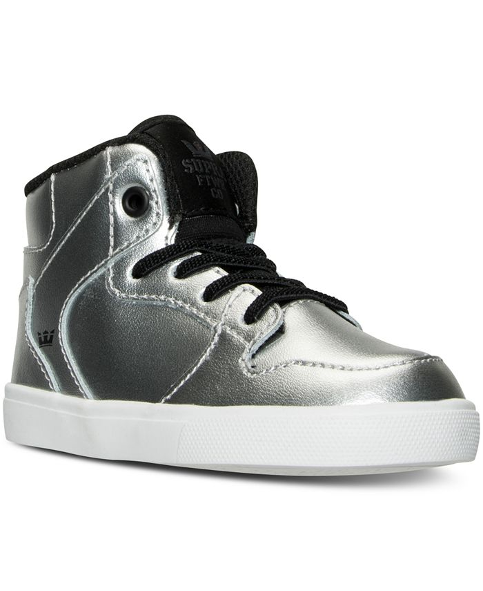 SUPRA - Toddler Boys' Vaider Casual Skate High Top Sneakers from Finish Line