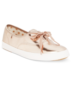 Keds Women's Breeze Metallic Lace-Up Sneakers Women's Shoes