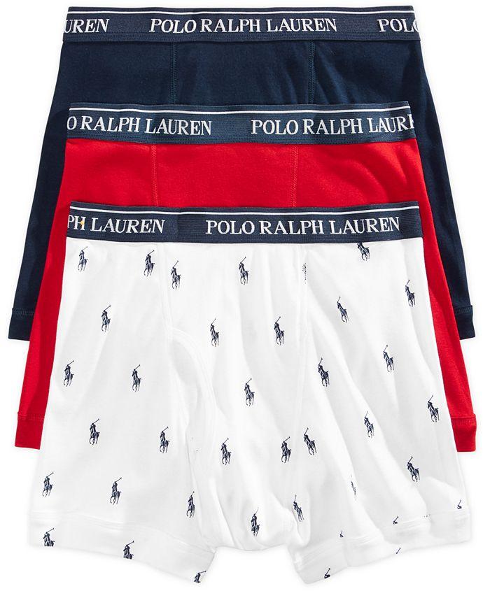 Polo Ralph Lauren - Underwear, Boxer Briefs 3 Pack