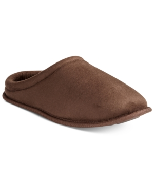 Club Room Men's Faux Suede Clog Slippers, Only at Macy's