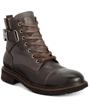 Guess Men's Rand Utility Cap Toe Boot Men's Shoes