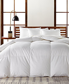Hotel Collection European White Goose Down Medium Weight Comforters, Hypoallergenic UltraClean Down, Created for Macy's