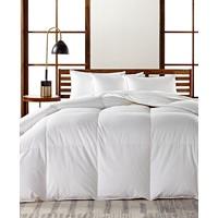 Hotel Collection European Goose Down Medium Weight Comforter, Hypoallergenic UltraClean Down