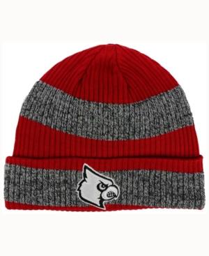 adidas Louisville Cardinals Player Watch Knit Hat