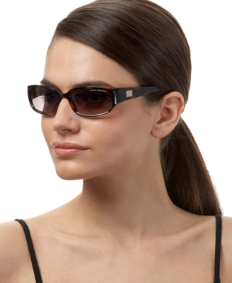 A/X Armani Exchange Small Rectangle Sunglasses