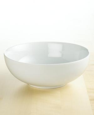 The Cellar Whiteware Porcelain Round Vegetable Bowl