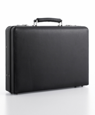 "Kenneth Cole New York Briefcase, 4"" Laptop Attache"