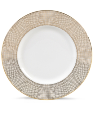 "Vera Wang Wedgwood ""Gilded Weave"" Accent Plate, 9"""