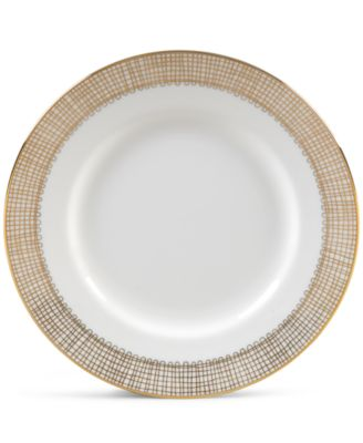 Vera Wang Wedgwood Gilded Weave Gold Appetizer Plate