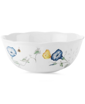 """Lenox """"Butterfly Meadow"""" Small Serving Bowl, 8.5"""""""