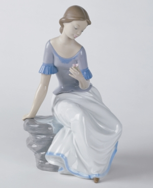 Nao by Lladro Collectible Figurine, Spring Reflections