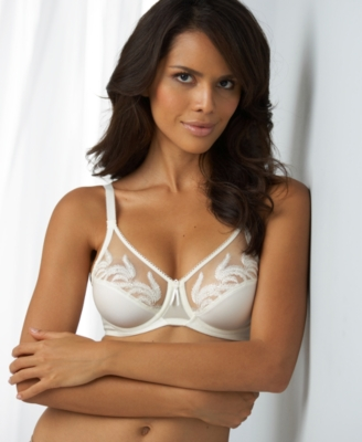 Wacoal Bra, Feather Embroidery Full Figure Underwire