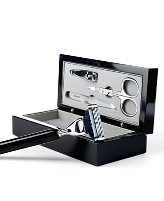 Calvin Klein Razor with 3 Piece Manicure Set - Home, Office & Travel Gifts & Gadgets - Men's  - Macy's :  travel set home manicure