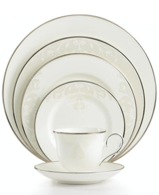Lenox Opal Innocence Scroll 5-Piece Place Setting