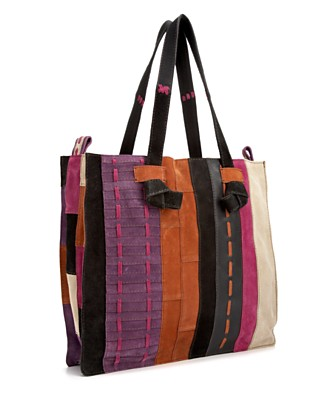 "Lucky Brand Jeans ""Renegade"" Patchwork Tote - New Arrivals - Handbags & Accessories - Macy's from macys.com"