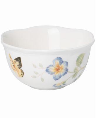 Lenox Dinnerware, Butterfly Meadow Dessert Bowl