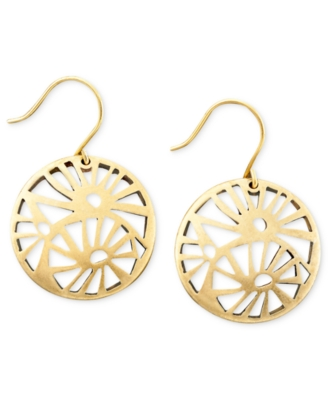 Kenneth Cole New York Goldtone Filigree Earrings