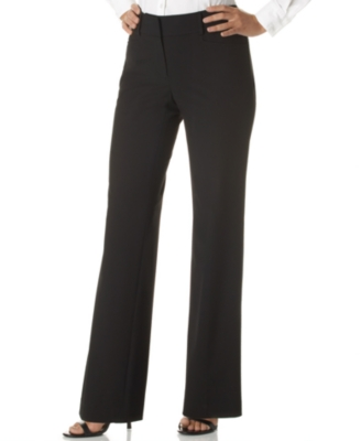 MICHAEL Michael Kors Petite Pants, Gramercy Two Pocket Stretch Straight Leg