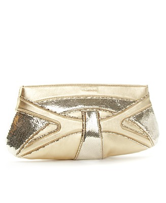 "Tahari ""Curve"" Clutch - Clutches & Occasion - Handbags & Accessories - Macy's from macys.com"