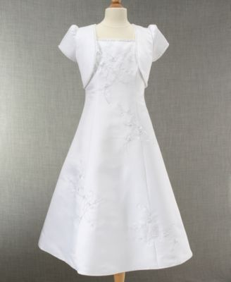Cinderella Girls Embroidered Communion Dress