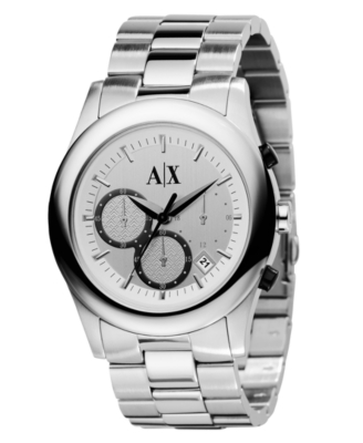 AX Armani Exchange Watch, Women's Stainless Steel Bracelet AX5002 - Watches