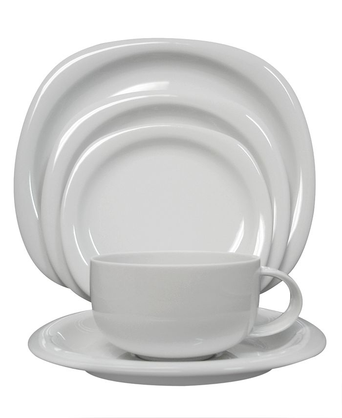 """Rosenthal - """"Suomi White"""" 5-Piece Place Setting"""
