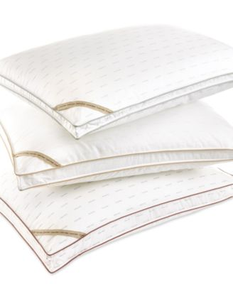 Calvin Klein Bedding, Signature Down Alternative Density King Medium Pillow