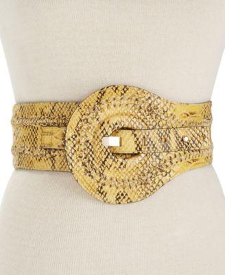 Jessica Simpson Faux Snake Waist Belt
