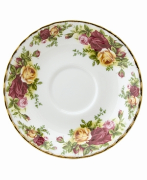 "Royal Albert ""Old Country Roses"" Saucer, 5 1/2"""