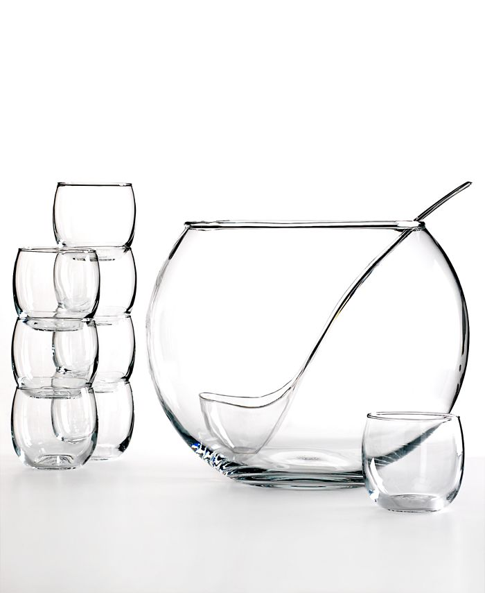 The Cellar - 10-Piece Punch Bowl Set