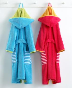 Bianca Robe, Hooded Kids Bath Robe, Size 2/3