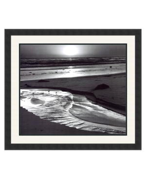 Amanti Art Birds on a Beach, Evening, 1966 Framed Art Print by Ansel Adams