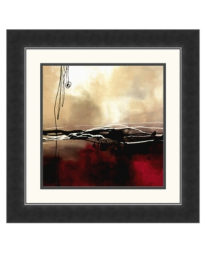 """Symphony in Red and Khaki I"" Framed Art Print by Laurie Maitland"