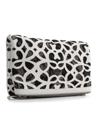 Rachel Rachel Roy Handbag, Groupie Foldover Clutch, Medium