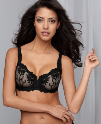 Lunaire Bra, Sevilla Scroll Embroidered Demi