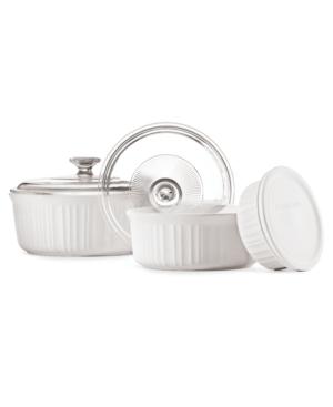 Corningware Bakeware, French White 6 Piece Set