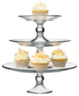 The Cellar Serveware Cake Stand With Mini Dome