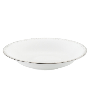 Lenox Lifestyle Dinnerware, Silver Mist Individual Pasta Bowl